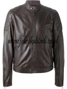 jaket kulit pria A194