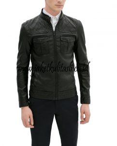 jaket kulit pria A240