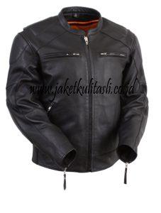 Jaket Kulit Motor Asli JKM13