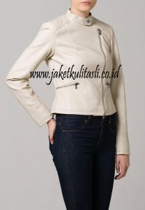 Jaket Kulit Asli Wanita W113