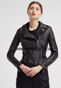 Jaket Kulit Asli Changcuters Wanita W118