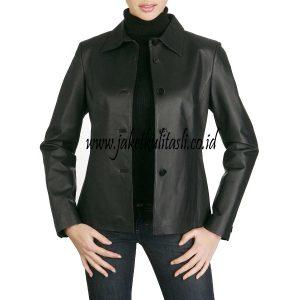 Jaket Kulit Asli Wanita W128