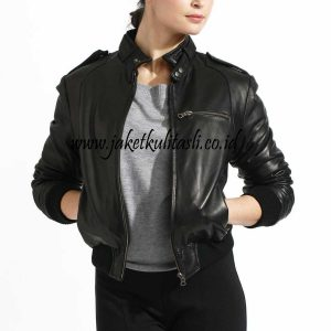 Jaket Kulit Asli Wanita W136