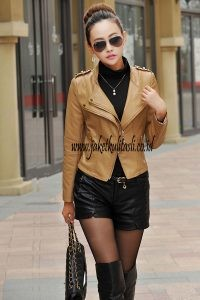 Jaket Kulit Asli Changcuters Wanita W28