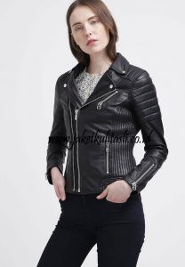 Jaket Kulit Asli Changcuters Wanita W31