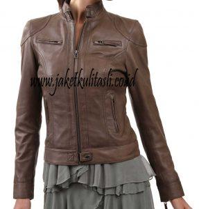 Jaket Kulit Asli Wanita W56