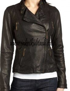 Jaket Kulit Asli Changcuters Wanita W6