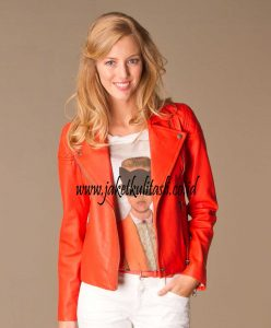 Jaket Kulit Asli Changcuters Wanita W64