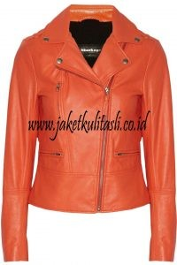 Jaket Kulit Asli Changcuters Wanita W93