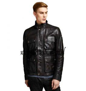 jaket kulit pria A275