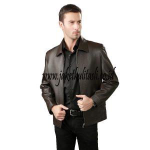Jaket Kulit Asli Pria A303
