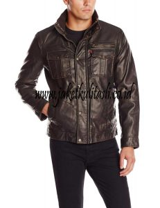 Jaket Kulit Asli Semi Formal A508