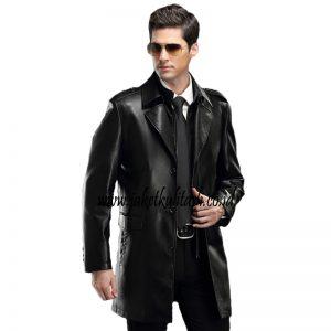 Mantel Jaket Kulit Pria A541