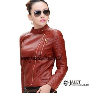 Jaket Kulit Changcuters Wanita W143