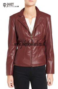 Jaket Kulit Wanita W144