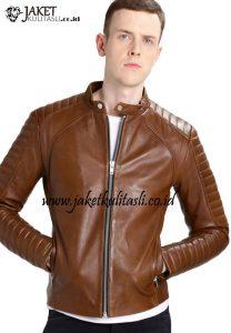 Jaket Kulit Motor Pria A650