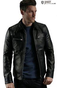 Jaket Kulit Pria Terbaru A756