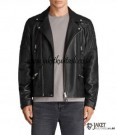 Jaket Kulit Ramones Pria Terbaru A757