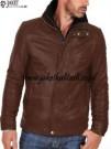 Jaket Kulit Coklat Muda A859