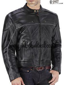 Jaket Kulit Motor Pria JKM21