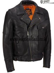 Jaket Kulit Motor Pria JKM20
