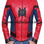 Jaket Kulit Hero Spiderman A878