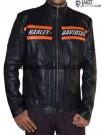 Jaket Harley Davidson Kulit Asli JKM22
