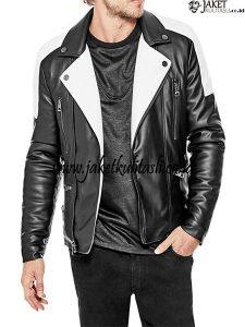 Jaket Kulit Rocker A913