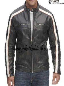 Jaket Kulit Bikers Harian A949