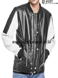 Jaket Kulit Asli Kombinasi Warna A976